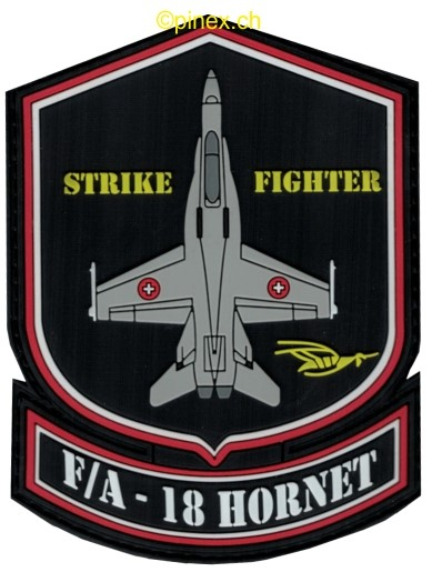 Photo de Badge F/A-18 Hornet Forces aériennes Suisses