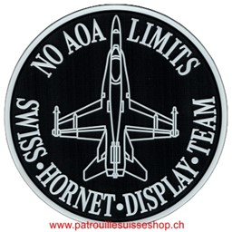 Bild von Swiss Hornet Display Team PVC-Rubberpatch mit Klett