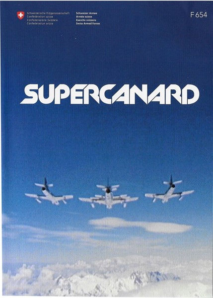 Photo de DVD Supercanard Patrouille Suisse Hawker Hunter