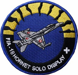 Bild von Patch F/A 18 Hornet Solo Display Team 2017