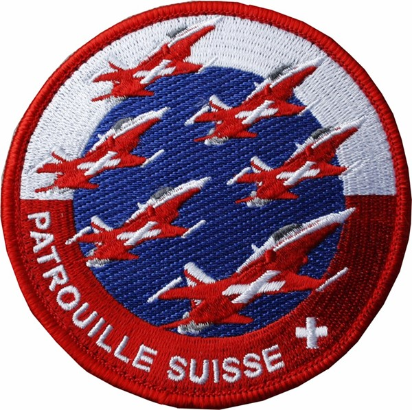 Photo de Patrouille Suisse Team Patch