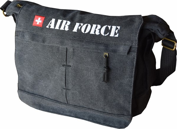 Photo de Air Force Tasche bestickt. Baumwolle.