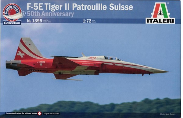Photo de Maquette avion Tiger F5 Patrouille Suisse Italeri