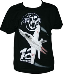 Bild von Staffel 18 Panthers KINDER T-Shirt Swiss Air Force F/A-18  5-6 Jahre