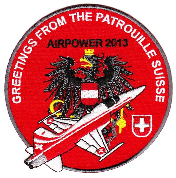 Picture of Patrouille Suisse Display Team Patches Swiss Air Force