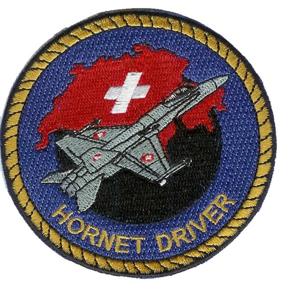 Photo de F18 Hornet Badge Forces aériennes suisses