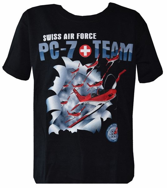 Bild von Kinder T-Shirt PC7-Team Swiss Air Force