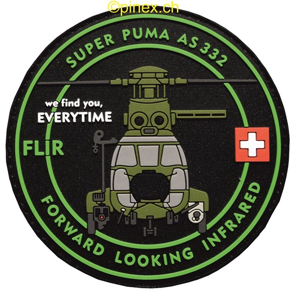 Bild von PVC Rubber Patch Super Puma FLIR