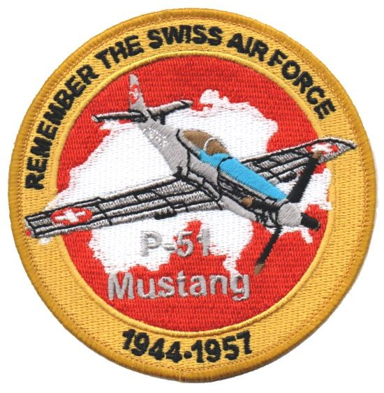 Picture of Swiss Air Force P-51 Mustang Patch