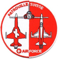Bild von Patrouille Suisse Swiss Air Force Display Team Patch 2018