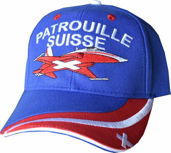 Picture of Swiss Air Force Patrouille Suisse Caps blue 2018