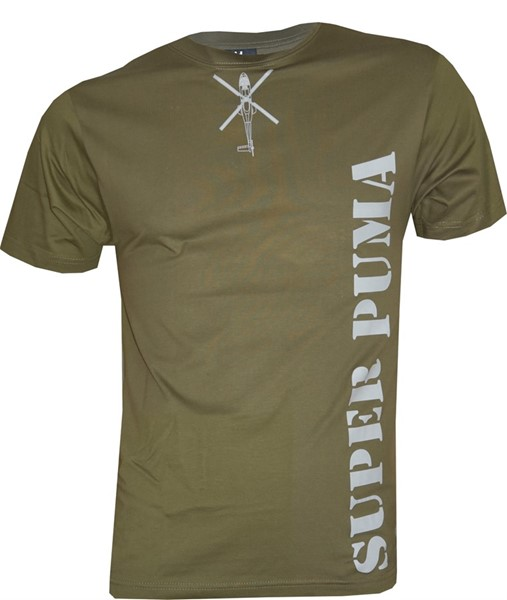 Picture of Swiss Air Force T-Shirt Super Puma Helicopter