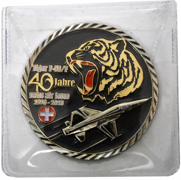 Photo de Tiger F5E/F Swiss Air Force Coin Jubiläum 1978-2018 40Jahre Tiger