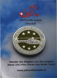Bild von Super Puma Display Team Logo Pin