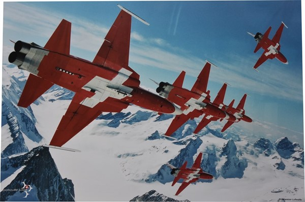 Picture of Patrouille Suisse Poster Poster