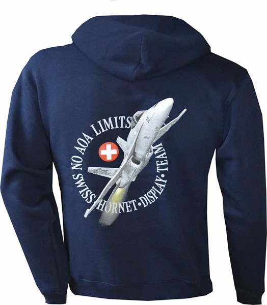 Photo de F/A 18 Hornet Kaputzenjacke mit Zip