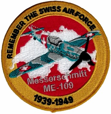 Photo de Messerschmitt ME-109 Badge Forces aériennes suisse