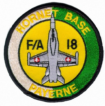 Photo de Insigne Hornet Base Aérodrome Payerne