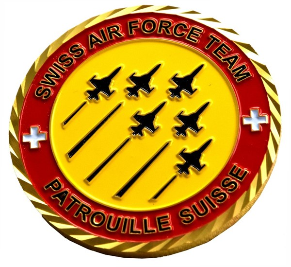 Picture of Patrouille Suisse Coins Swiss Air Force Display Team