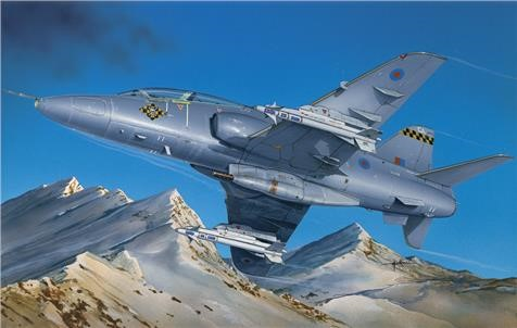 Photo de Hawk T. Mk.1 Italeri Plastikbausatz mit Schweizer Decals 1:48