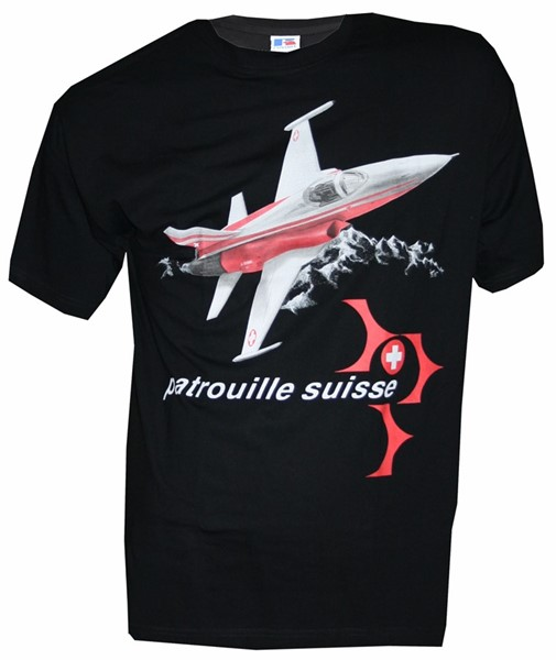Photo de Patrouille Suisse T-Shirt schwarz