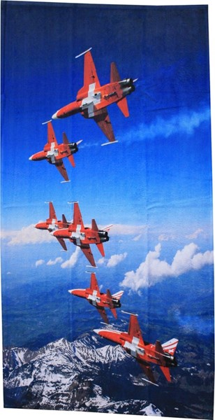 Picture of Patrouille Suisse Badetuch