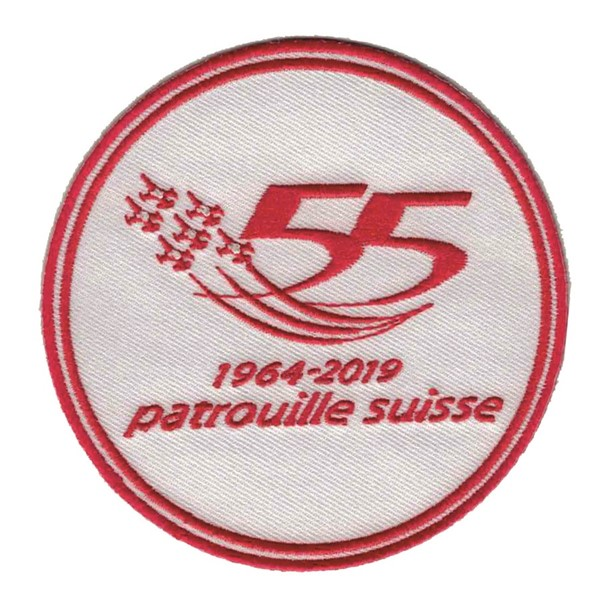 Picture of Patrouille Suisse Patch 55th anniversary Patch 2019