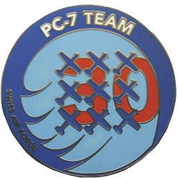 Bild von Swiss Air Force PC-7 TEAM Jubiläums Coin