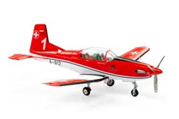 Bild von Pilatus PC-7 Schweizer Luftwaffe Air 14 Nr 1 (A-912) Metallmodell 1:72 ACE Collection