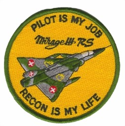 Bild von Mirage 3 RS Badge Patch Recon is my life