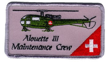 Photo de Alouette III Maintenance Crew Patch