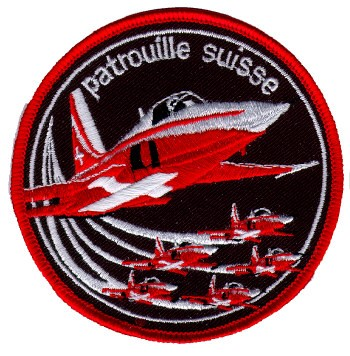 Photo de Badge Patrouille Suisse Tiger