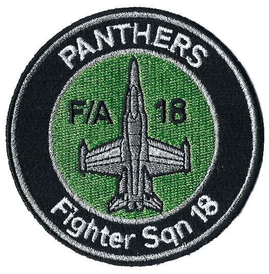 Photo de Badge Escadrille d'aviation 18 Panthers
