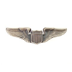 Photo de  US Air Force Pilot Wings, Pilotenabzeichen Metall
