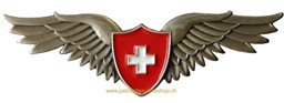 Bild von Swiss Pilot Wings Pin small