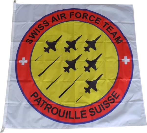 Photo de Drapeau Patrouille Suisse