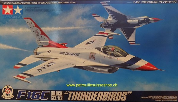 Photo de Tamiya F16 Thunderbirds Plastikbausatz